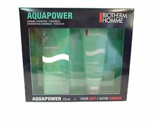 Biotherm Homme Aquapower EDT 75 ml Eau de Toilette Spray + Duschgel 75ml SET NEU