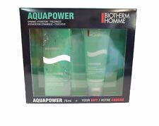 Biotherm Homme Aquapower - Pflegeset 75ml-75ml