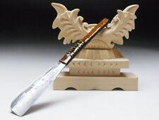 Medium Blade! Shave Ready! TAMAHAGANE TERAMASA J*apanese Straight Razor #A-251