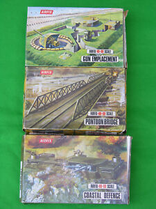 AIRFIX 1/72 HO-OO SCALE MILITARY INSTALATIONS MULTI-LISTING