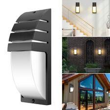 LED Motion Sensor Wall Light Waterproof Modern Porch Outdoor Garden Lamp