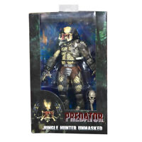 NECA 30th Anniversary Predator Jungle Hunter Unmasked Statue Action Figures Toy