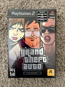 GRAND THEFT AUTO TRILOGY PS2 GAME NEW GTA PlayStation 2