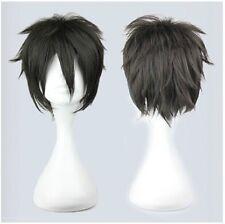 Sword Art Online Kirigaya Kazuto Kirito Short Anime Cosplay Wig + Free cap