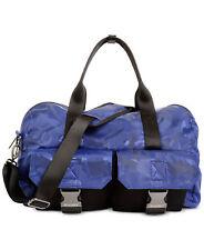 NEW MENS 2XIST COBALT BLUE CAMO DOME NYLON DUFFLE BAG $128