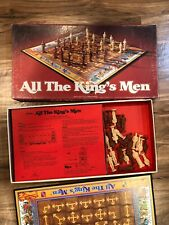 ALL THE KING'S MEN Vintage 1979 Board Game Parker Brothers No. 72 Complete