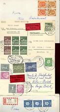 BUND 1951-1965 126 PAAR etc BRIEF BERLIN 185 PLNR etc (D2855b