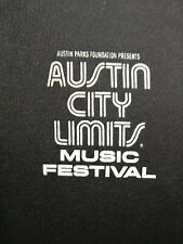 VGC AUSTIN CITY LIMITS ACL TEXAS MUSIC FESTIVAL BLACK GOLF POLO SHIRT XL