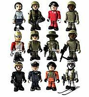 HM Armed Forces Mini Micro Figures Character Building Royal Navy Army Air Force SAS Special Agent 2
