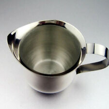 Pouring Milk Jug Stainless Steel Coffee Frothing Measurement Kitchen Gadget YW