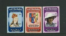ST. VINCENT & GRENADINES (Canouan) 1982  ROYAL BABY Prince William - Set  MNH