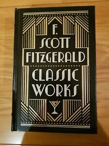 F Scott Fitzgerald Classic Works. Black and Gold