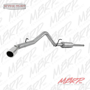 "MBRP 3"" CAT BACK EXHAUST FOR 2014-2018 CHEVY SILVERADO GMC SIERRA 1500 5.3L 4.3L"