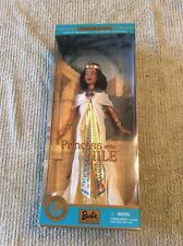 Dolls of the World Princess of the Nile Barbie Doll NIB 2001 Mattel