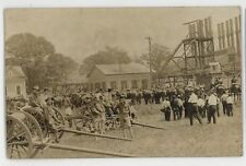 RPPC National Guard Camp Wiley INDIANA PA Vintage County Real Photo Postcard