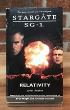 Stargate Sg-1 : Relativity James Swallow Paperback Book #10