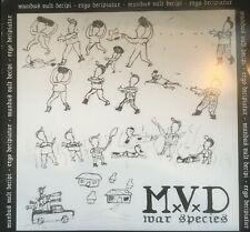 MxVxD – War Species LP   Vinyl German thrash punk