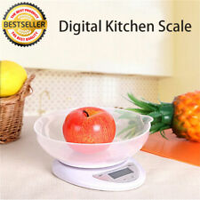 1G-5KG DIGITAL KITCHEN SCALES LCD ELECTRONIC COOKING FOOD MEASURING SCALE WEIGH