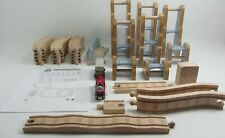 Thomas Train Wooden Railway Rheneas and The Roller Coaster Set-Complete HTF