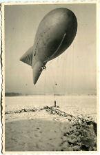 AK Ballon in Zeppelin Form 1943 E 200 ? Militärballon ? Wetterballon ? Winter