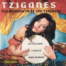 YOSKA NEMETH Et Ses Tziganes Tziganes FR Press Visadisc 222 EP