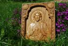 Sacred Heart of Jesus Our Lord Jesus Christ WOOD CARVED CHRISTIAN ICON