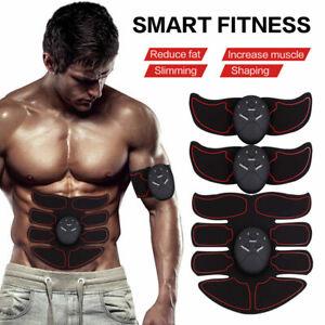 8 Packs Wireless Muscle Stimulator EMS Stimulation Body Slimming Beauty Machine