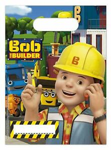Bob The Builder Party Bags Pack Of 6
