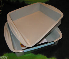 SILICONE BAKING TRAY SQUARE Lasagne Cake Dish microwave Non Stick tin loaf oven