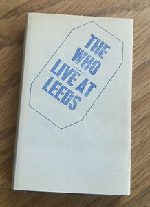 The Who Live At Leeds Tape 1995 Netherlands Cassette Audio