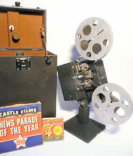 working SUPER CLEAN 16mm KODAK model EE - Case, 2 Films, Speed Control,