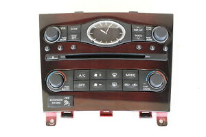 10 11 12 13 Infiniti G37 Audio Climate Control Panel Temperature Unit A/C Heater