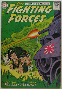 Our Fighting Forces #78 (Aug 1963, DC), VFN condition