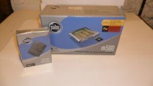 NEW! PALM m500 Pocket PC PDA Electronic Handheld Organizer & CASE