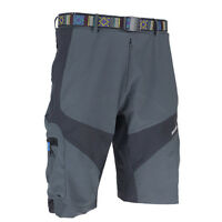 Mens Off Road Downhill Mountain Bike Cycling Shorts Loose Fit Cargo Short Pants