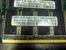 Samsung 1GB (2x512) DDR RAM