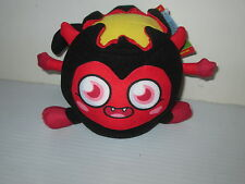 MOSHI MONSTERS DIAVLO CLOTH PLUSH STUFFED TOY CHARACTER WITH CODE IN TAG