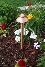 12V Low Voltage Outdoor Landscape Yard Garden Premium Raw Copper Path Light