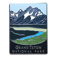 Grand Teton National Park Pin - Official Traveler Series - Teton Range, Wyoming