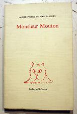 ALECHINSKY/A.PIEYRE DE MANDIARGUES/MONSIEUR MOUTON/ED FATA MORGANA/1993/1200 EX