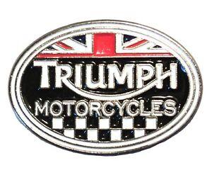 Triumph Motorcycles Classic 1960s British Rocker Motorbike Motorcycle Bike Badge