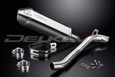 "Delkevic 13"" Stainless Tri-Oval Muffler Triumph Tiger Sport 1050 - 13-16 Exhaust"