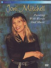 JONI MITCHELL - PAINTING WITH WORDS & MUSIC - NEW DVD