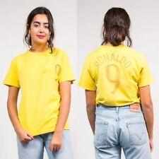 Nike Patternless Crew Neck Basic T-Shirts for Women