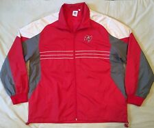 Tampa Bay Buccaneers Nfl Mens Color Block XL Full Zip Windbreaker Jacket