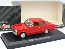 Detail Cars 1/43 - Ford Cortina MKI 1963 Rouge