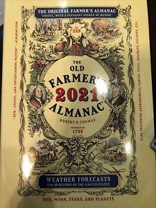 The Old Farmer's Almanac 2021 Hardcover Edition The Original Farmer's Almanac