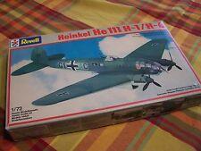 Vintage 1/72 Revell Heinkel He 111 H-1/H 6  Model Plane  # 4335