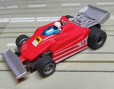 für H0 Slotcar Racing Modellbahn --   Indy Formel 1  * Ferrari mit Tyco Motor