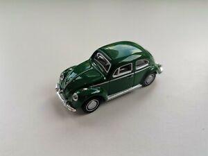 Green Classic Volkswagen Beetle V1 1/72 Hongwell Cararama loose
